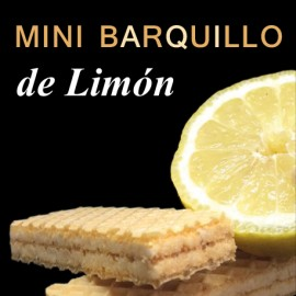 Mini-Barquillo limon
