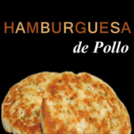 HAMBURGUESA DE POLLO