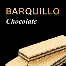 Barquillo chocolate