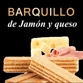 Barquillo jamon-queso