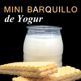 Mini-Barquillo yogur