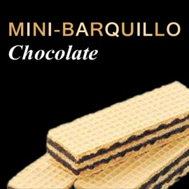 Mini-Barquillo chocolate
